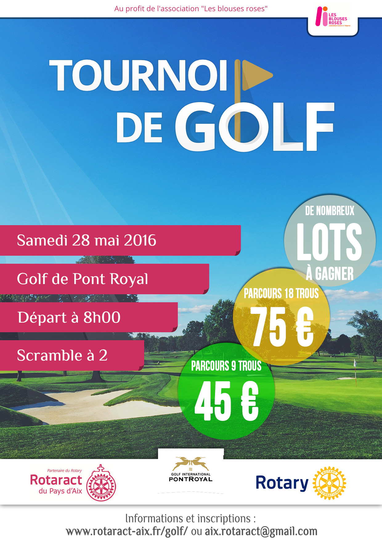 Tournoi de Golf Pont Royal