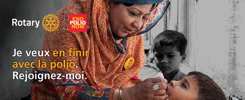 Affiche end Polio now